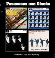 posavasos beatles