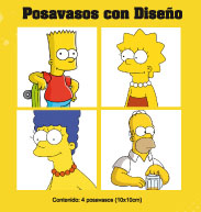 posavasos simpsons