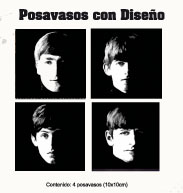 posavasos with the beatles