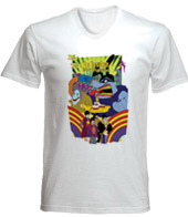 remera estampada the beatles yellow submarine